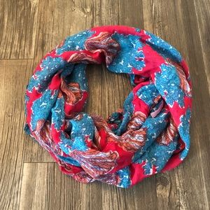 lilly pulitzer riley shell scarf